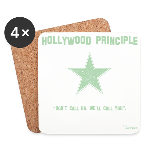 Hollywood Principle - Coasters (set of 4)