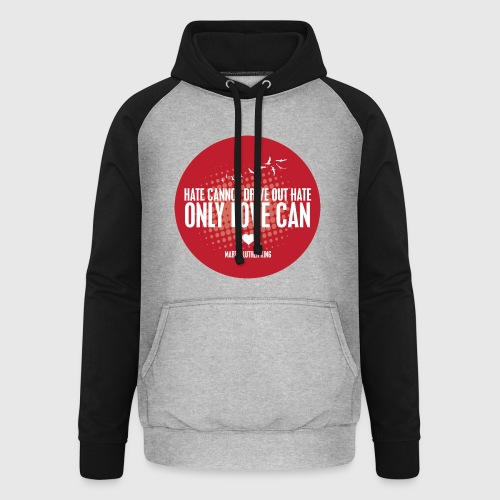 LOVE - MARTIN LUTHER KING - Unisex baseball hoodie