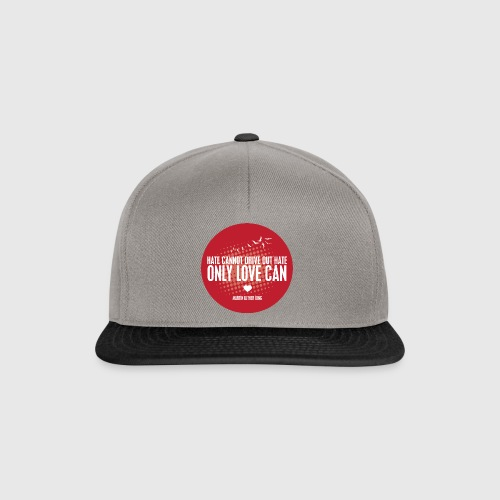 LOVE - MARTIN LUTHER KING - Snapback Cap