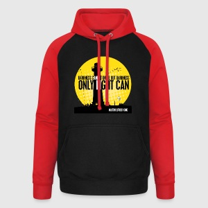 LIGHT - MARTIN LUTHER KING - Unisex baseball hoodie