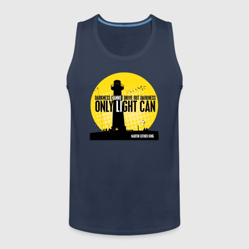 LIGHT - MARTIN LUTHER KING - Herre Premium tanktop