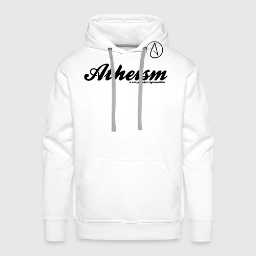 Atheism - a non prophet organisation - Herre Premium hættetrøje