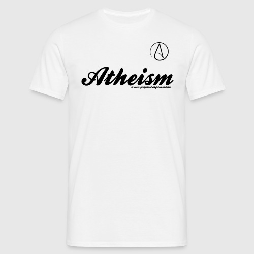 Atheism - a non prophet organisation - Herre-T-shirt