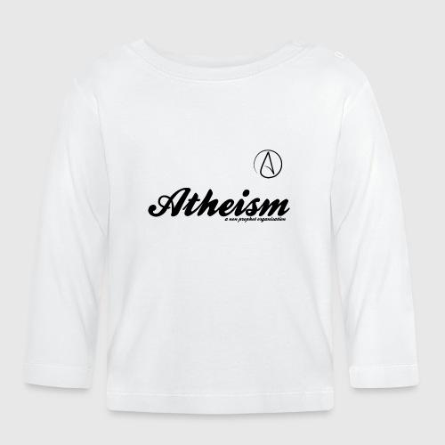 Atheism - a non prophet organisation - Langærmet babyshirt