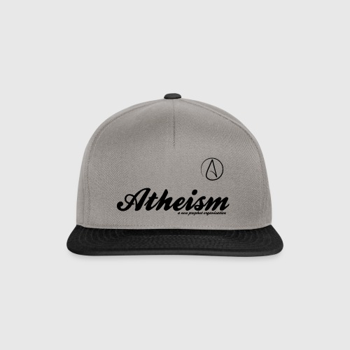 Atheism - a non prophet organisation - Snapback Cap