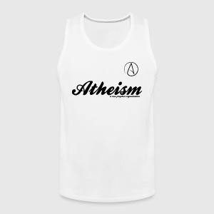 Atheism - a non prophet organisation - Herre Premium tanktop