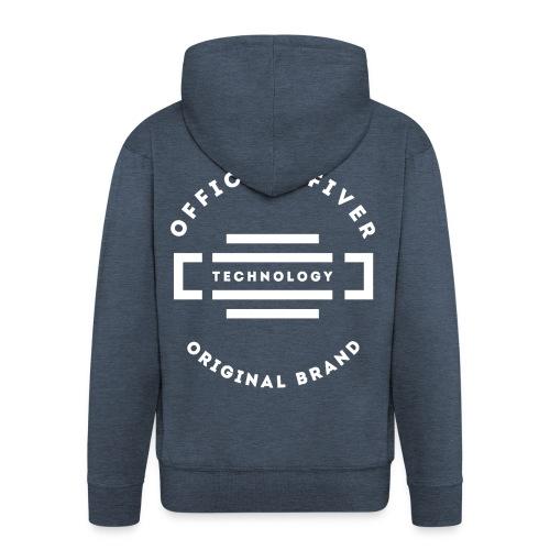Fiver Originals - Premium Graphic Tee - Men's Premium Hooded Jacket
