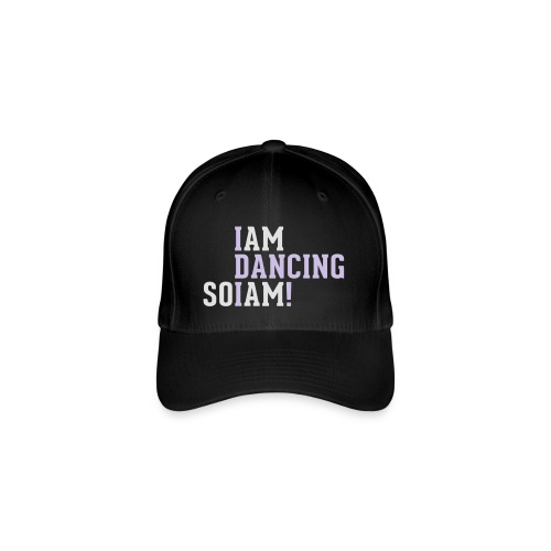 I am dancing so I am! - Flexfit Baseballkappe