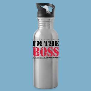 I'm the Boss - Trinkflasche