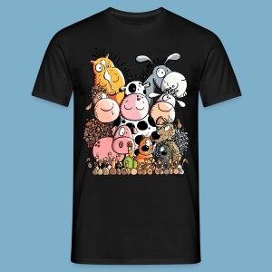 Tiere Farm - Männer T-Shirt