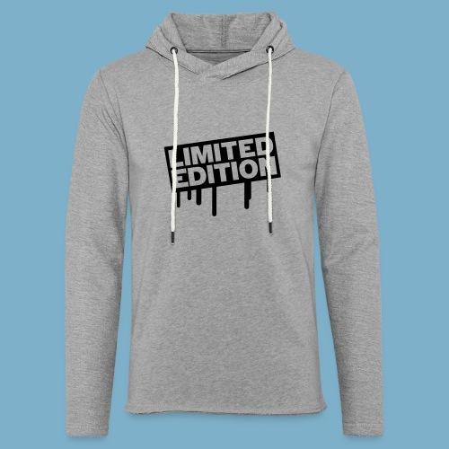 Limited Edition - Leichtes Kapuzensweatshirt Unisex
