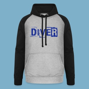 Diver - Unisex Baseball Hoodie