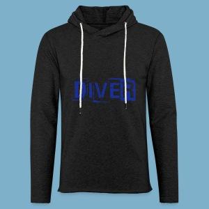 Diver - Leichtes Kapuzensweatshirt Unisex