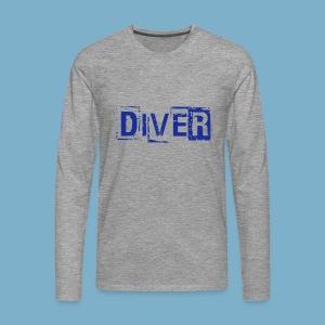 Diver - Männer Premium Langarmshirt