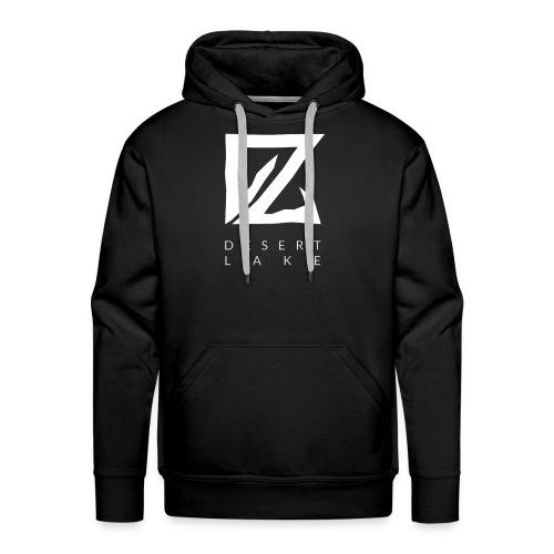 Desert Lake Logo Premium Men's Shirt Black - Männer Premium Hoodie