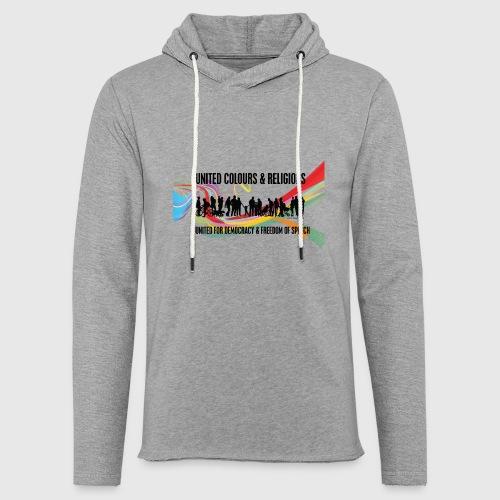 United - Let sweatshirt med hætte, unisex
