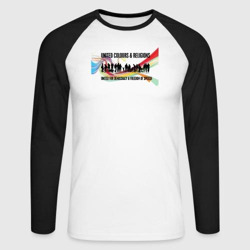 United - Langærmet herre-baseballshirt