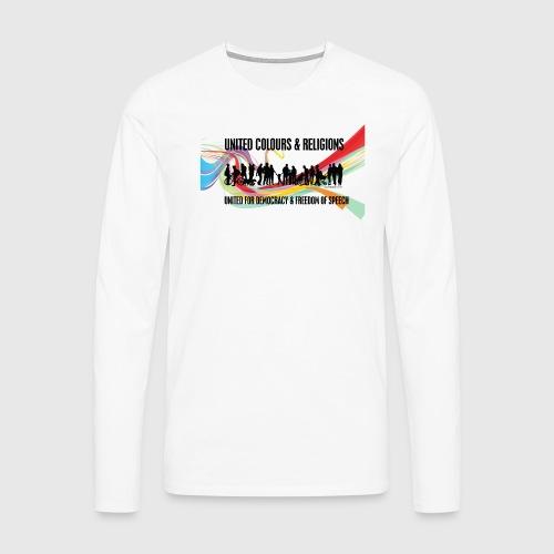United - Herre premium T-shirt med lange ærmer