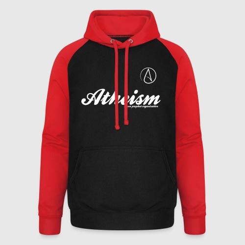 Atheism - a non prophet organisation - Unisex baseball hoodie