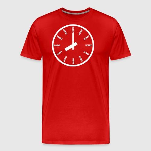 Horny - Herre premium T-shirt