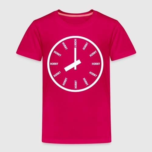 Horny - Børne premium T-shirt