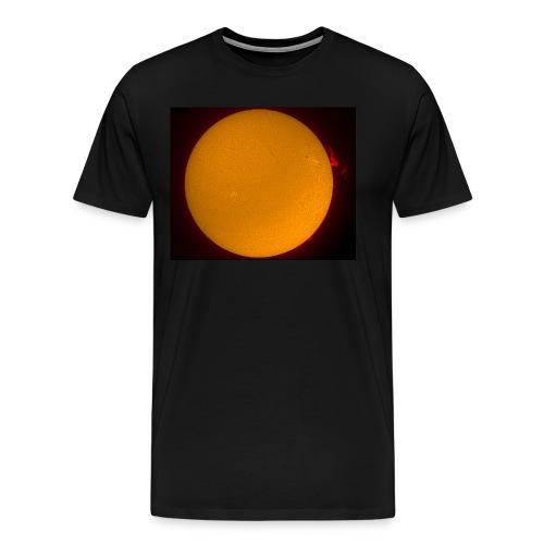 Sonne H-Alpha - Männer Premium T-Shirt