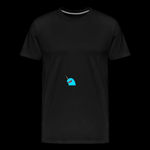Cap Narwhal - Männer Premium T-Shirt