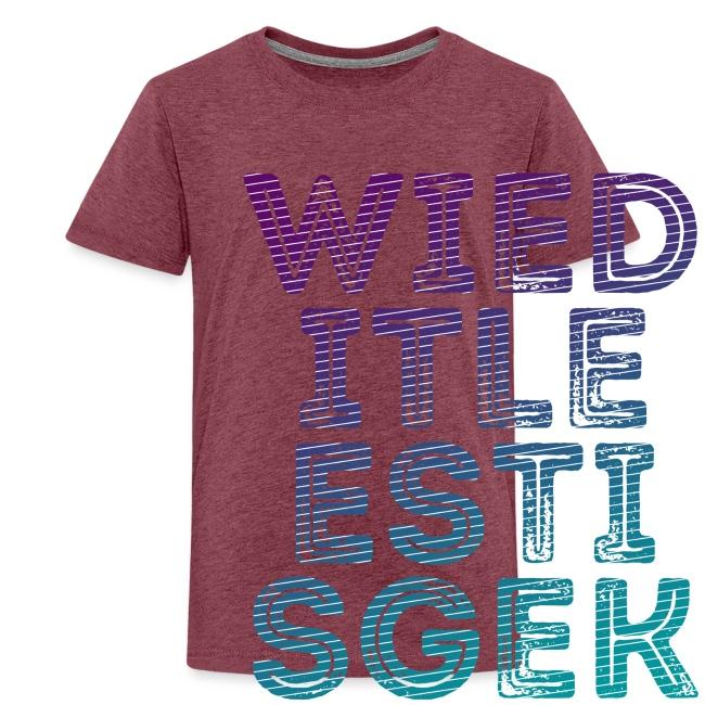 WIED tienershirt