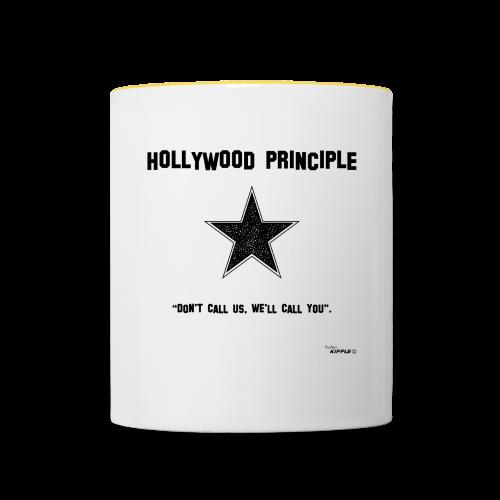Hollywood Principle - Contrasting Mug