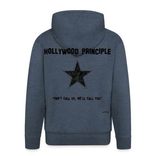 Hollywood Principle - Men's Premium Hooded Jacket