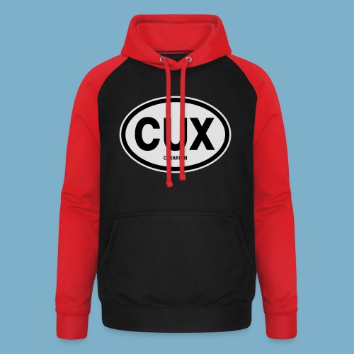 Cuxhaven Schild - Unisex Baseball Hoodie