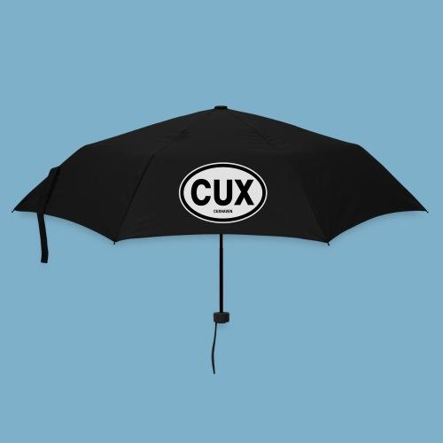 Cuxhaven Schild - Regenschirm (klein)