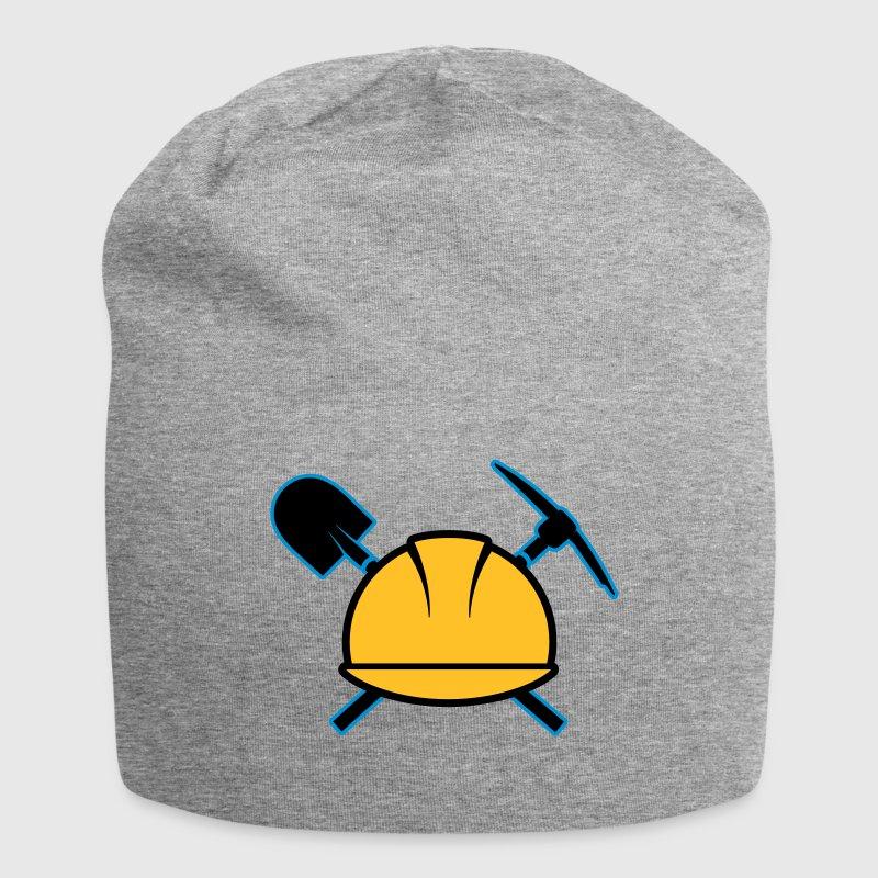 Un casque de sécurité  Casquettes et bonnets - Bonnet en jersey