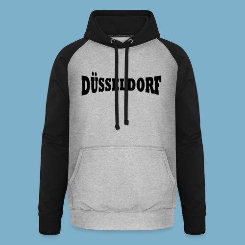Düsseldorf  - Unisex Baseball Hoodie