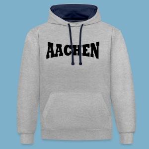 Aaachen - Kontrast-Hoodie