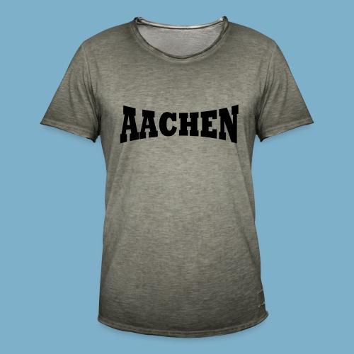 Aaachen - Männer Vintage T-Shirt