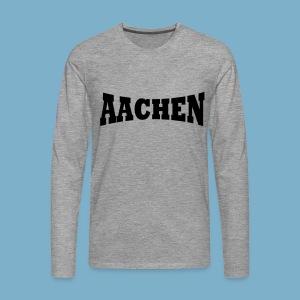 Aaachen - Männer Premium Langarmshirt