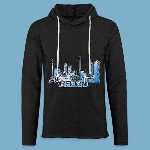 Berlin Sky Line - Leichtes Kapuzensweatshirt Unisex