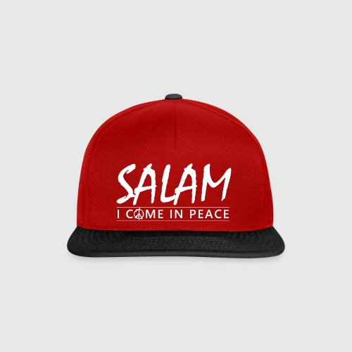 SALAM - I COME IN PEACE - Snapback Cap