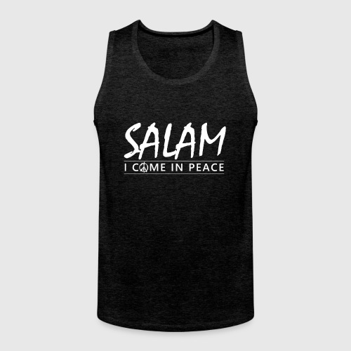 SALAM - I COME IN PEACE - Herre Premium tanktop