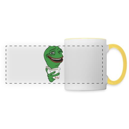 Tapis de souris Frog RAB - Mug panoramique contrasté et blanc
