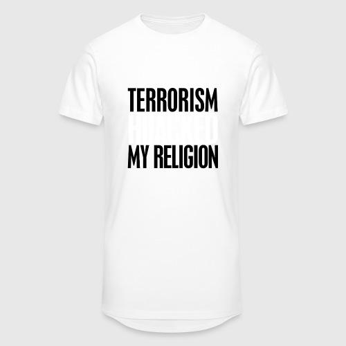 terrorism - hijacked my religion - Herre Urban Longshirt