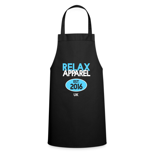 Relax Apparel White + Blue - Cooking Apron