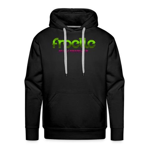 Froelle Music Producer Classic Black T-Shirt - Premiumluvtröja herr