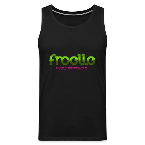 Froelle Music Producer Classic Black T-Shirt - Premiumtanktopp herr
