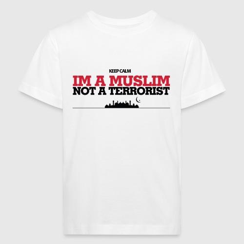 Im a muslim, not a terroist - Organic børne shirt