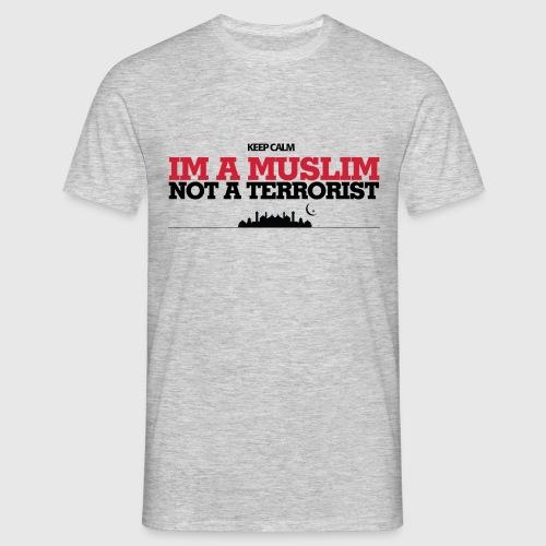 Im a muslim, not a terroist - Herre-T-shirt