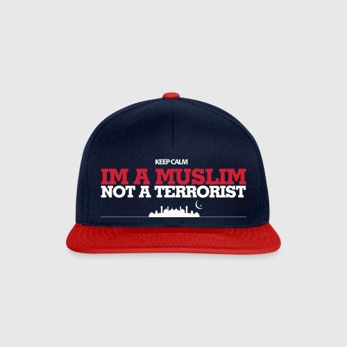 Im a muslim, not a terroist - Snapback Cap