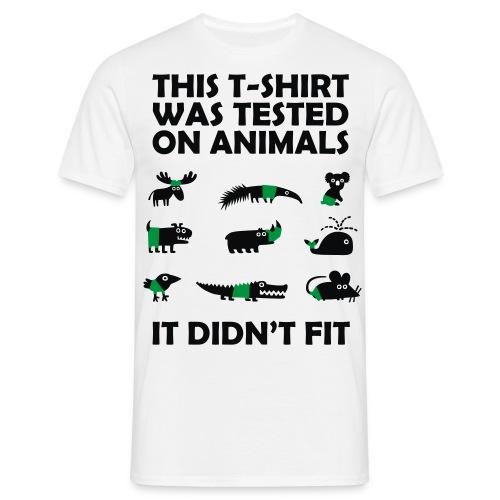 Tested on Animals - Männer T-Shirt