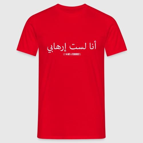 Im not a terrorist - Herre-T-shirt